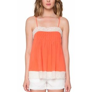 Willow and Clay Lace Trim Camisole